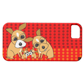 Chihuahua Family iPhone 5 Case-Mate Case iPhone 5 Cover