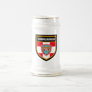 Chihuahua Flag Beer Stein