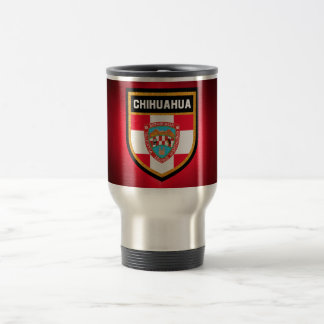 Chihuahua Flag Travel Mug