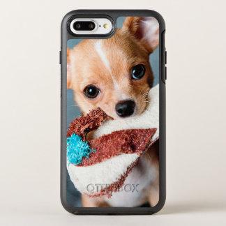 chihuahua flip flops OtterBox symmetry iPhone 8 plus/7 plus case