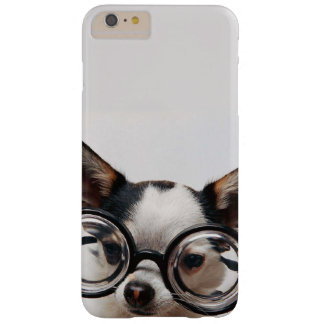 Chihuahua glasses - dog eyeglasses barely there iPhone 6 plus case