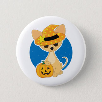 Chihuahua Halloween 2 Inch Round Button