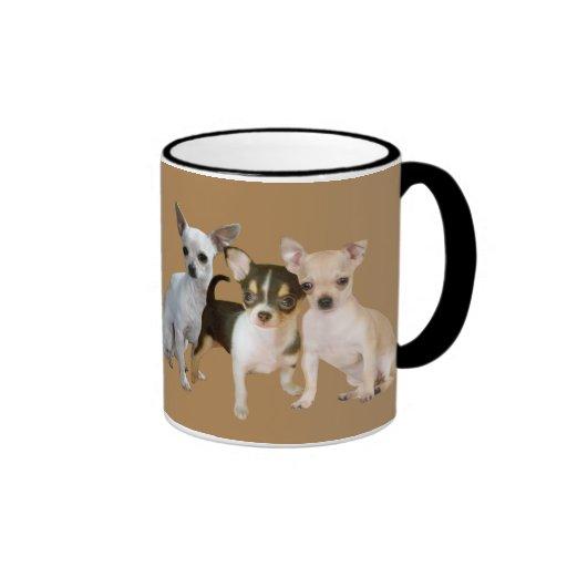 Chihuahua Happy Trio Mug