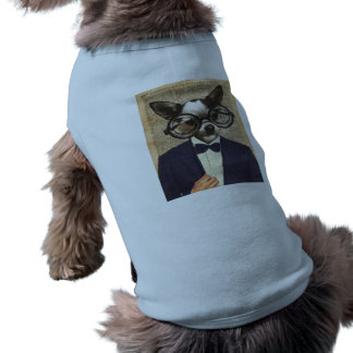 Chihuahua Hipster Dictionary Art Doggie T Shirt