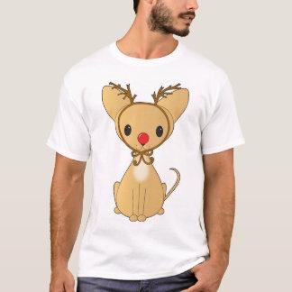 Chihuahua in Rudolf Costume T-Shirt