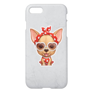 Chihuahua in the Guise of a Retro Beauty iPhone 7 Case