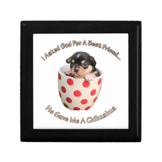 Chihuahua Is My Best Friend Gift Box