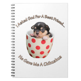 Chihuahua Is My Best Friend Notebook