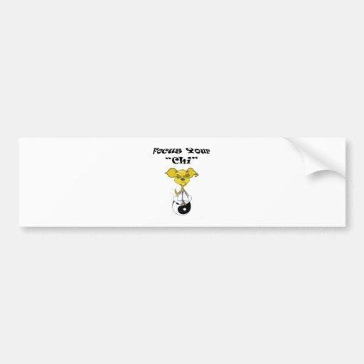 Chihuahua Junkie Bumper Sticker