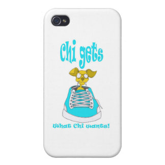 Chihuahua Junkie iPhone 4 Cover
