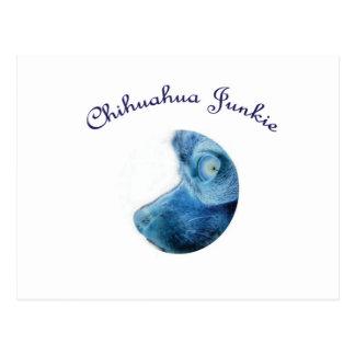 Chihuahua Junkie Postcard