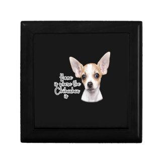 Chihuahua Keepsake Box