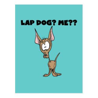 Chihuahua Lap Dog Tshirts and Gifts Postcard