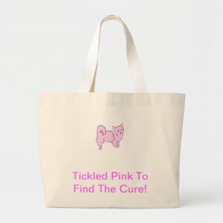 Chihuahua Long Hair Large Tote Bag