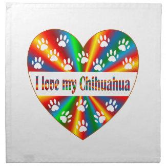Chihuahua Love Napkin