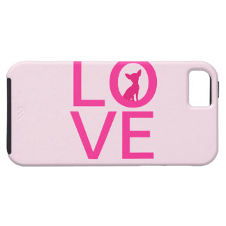 Chihuahua love pink dog cute iPhone 5 case mate