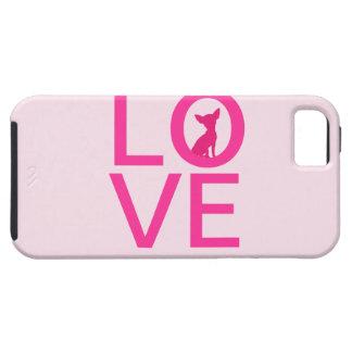 Chihuahua love pink dog cute iPhone 5 case mate