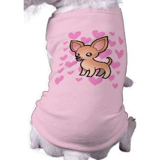 Chihuahua Love (smooth coat) Doggie Tshirt