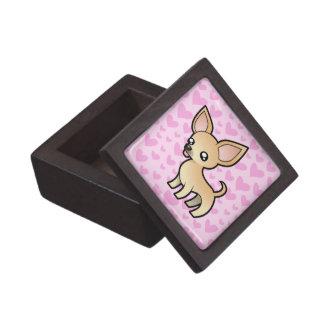 Chihuahua Love (smooth coat) Premium Trinket Box