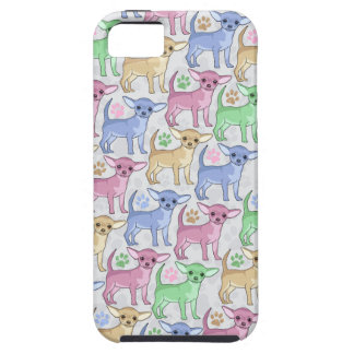Chihuahua Lover Colorful Pattern iPhone 5 Cases