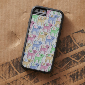 Chihuahua Lover Colorful Pattern Tough Xtreme iPhone 6 Case