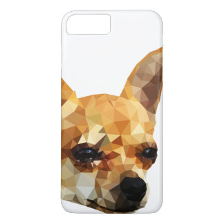 Chihuahua Low Poly Art iPhone 7 Plus Case