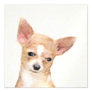 Chihuahua Magnetic Card