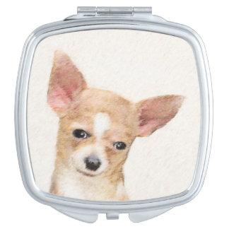 Chihuahua Makeup Mirror