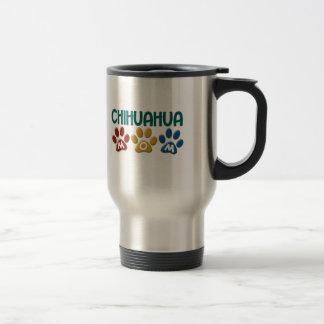 CHIHUAHUA Mom Paw Print 1 Travel Mug