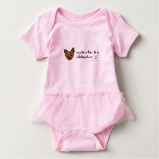 chihuahua-more breeds baby bodysuit