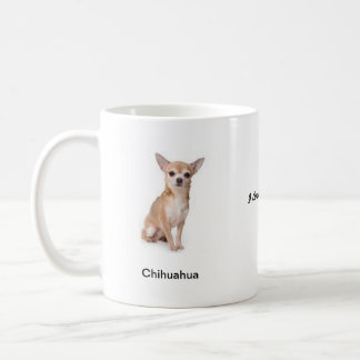 Chihuahua Mug - With Two Images And A Motif