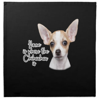 Chihuahua Napkin