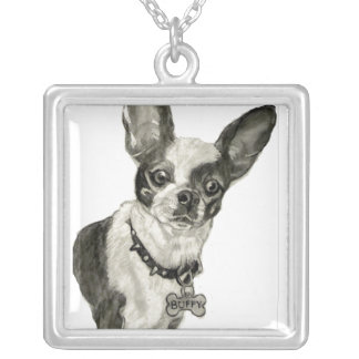 Chihuahua necklace from Original Drawing