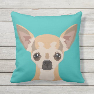 Chihuahua Outdoor Pillow
