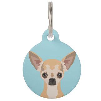 Chihuahua Pet Nametag