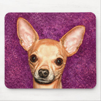 Chihuahua Portrait Mouse Pad