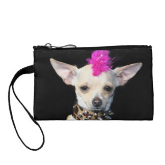 Chihuahua Punk dog Coin Purse