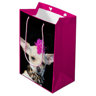 Chihuahua punk dog Gift Bag