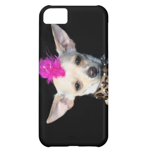 Chihuahua punk rocker cover for iPhone 5C