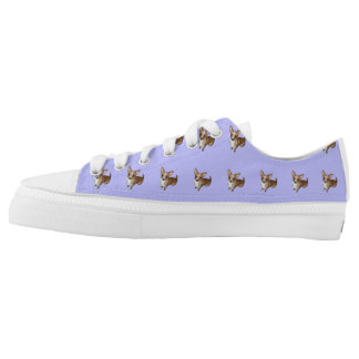 Chihuahua Pup Low-Top Sneakers