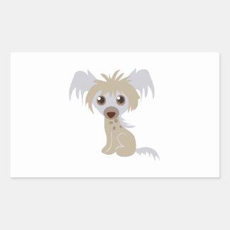 Chihuahua Pup Rectangular Stickers