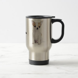 Chihuahua puppy travel mug