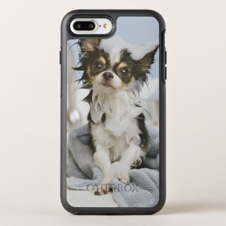 Chihuahua Puppy Wrapped In A Towel OtterBox Symmetry iPhone 8 Plus/7 Plus Case