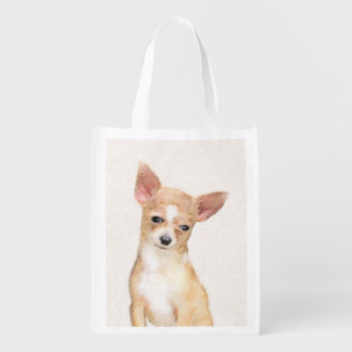 Chihuahua Reusable Grocery Bag
