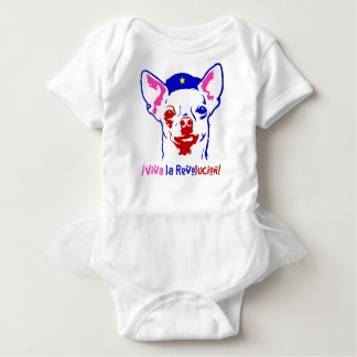 Chihuahua Revolution Baby Bodysuit