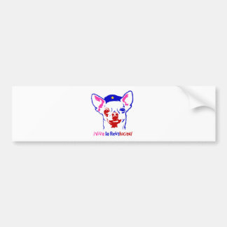 Chihuahua Revolution Bumper Sticker