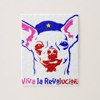 Chihuahua Revolution Jigsaw Puzzle