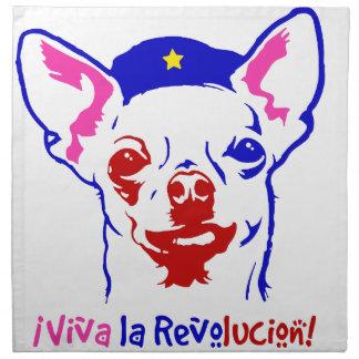 Chihuahua Revolution Napkin