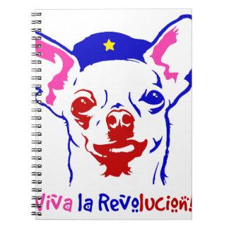 Chihuahua Revolution Spiral Notebook