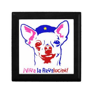 Chihuahua Revolution Trinket Box